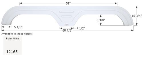 Carriage Tandem Fender Skirt FS2165