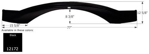 Keystone 5th Wheel Travel Trailer Fender Skirt FS2172