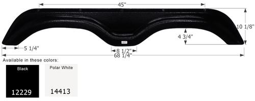 Holiday Rambler Tandem Fender Skirt  FS2229