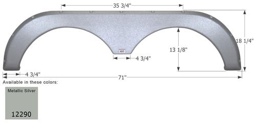 Thor Tandem Fender Skirt FS2290