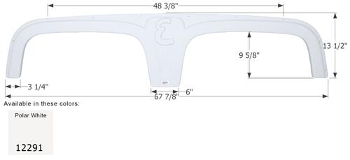 Excel Tandem Fender Skirt FS2291