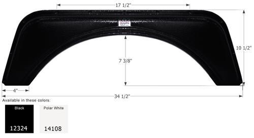 Tandem Fender Skirt For Layton Skyline Travel Trailers