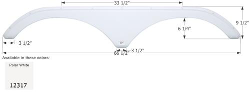 Thor Tandem Fender Skirt FS2317