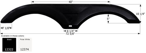 Tandem Fender Skirt  FS2322
