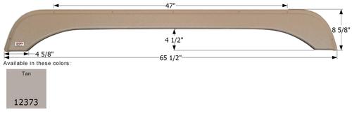 Sunnybrook Tandem Fender Skirt FS2373