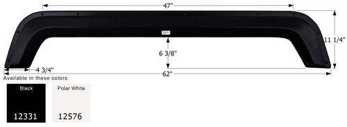 Layton Skyline Tandem Fender Skirt FS2331
