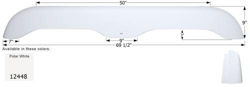 Extreme RV Tandem Fender Skirt  FS2448
