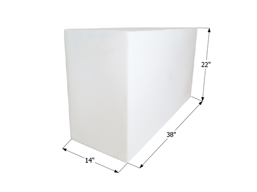 Fresh Water Tank WT2453 - 50 Gal.