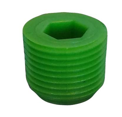 """Plug, 3/8"""" MPT (Green)"""
