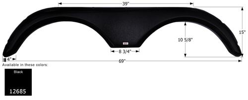Gulf Stream Tandem Fender Skirt FS2685