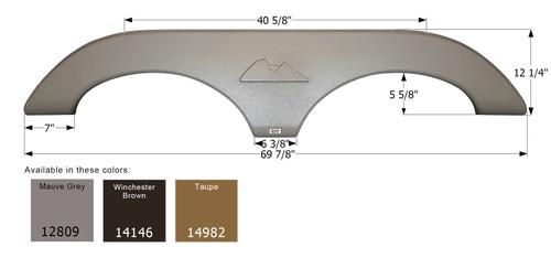 Keystone Tandem Fender Skirt FS2809