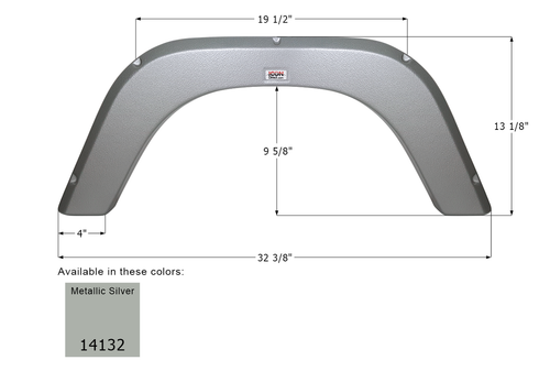 Forest River Single Fender Skirt FS4132