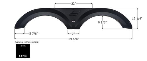 Starcraft Tandem Fender Skirt FS4209