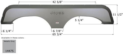 Jayco Tandem Fender Skirt FS4475