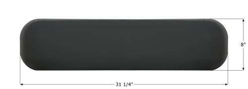 "Airstream Vista Polycarbonate Window - 31 1/4"" x 8"""