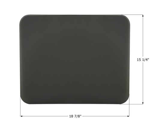 """Airstream Awning Side Polycarbonate Window - 18 7/8"""" x 15 1/4"""""""
