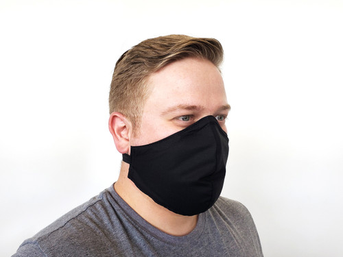 Cloth Mask - Shaped Style w/ Neck Band (Case of 20)