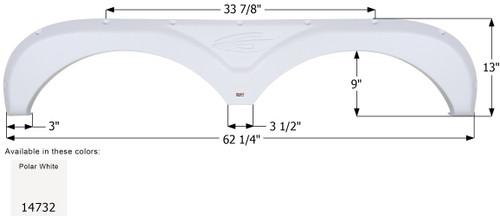 Gulf Stream Tandem Fender Skirt FS4732