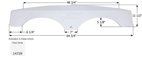 Starcraft Tandem Fender Skirt FS4729