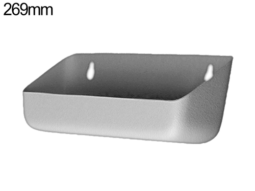 Tilt out tray - 269mm - Pewter Grey
