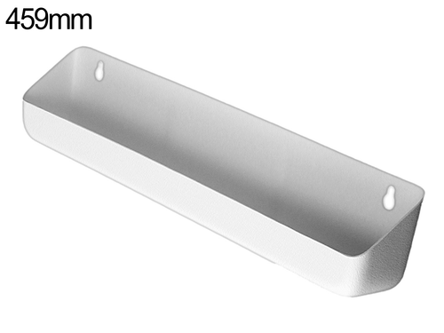 Tilt out tray - 459mm - White