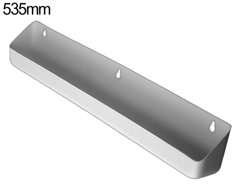 Tilt out tray - 535mm - Pewter Grey