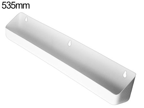 Tilt out tray - 535mm - White