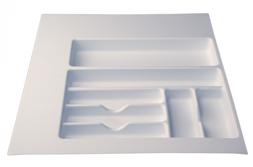 "Cutlery Tray 17"" - 23"" - White"