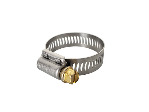 "Hose Clamp, 13/16"" x 1 1/2"", 1/2"" band"