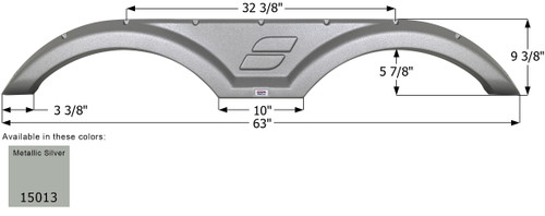Starcraft Tandem Fender Skirt FS5013