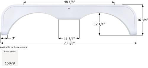 NuWa Tandem Fender Skirt FS5079