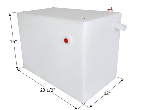 Fresh Water Tank WT3854 - 12 Gal.