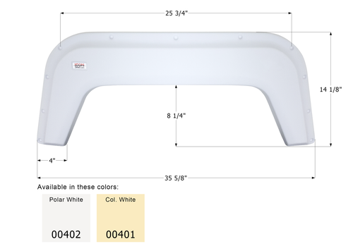 Single Fender Skirt FS370