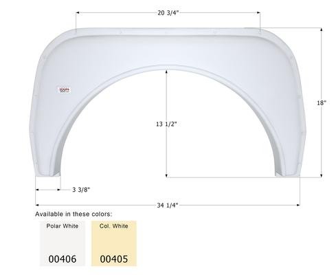 Single Fender Skirt FS380
