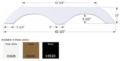 R-Vision Travel Trailer Fender Skirt FS765