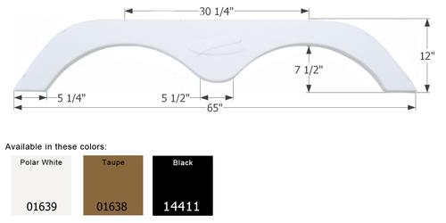 R-Vision Travel Trailer Fender Skirt FS775