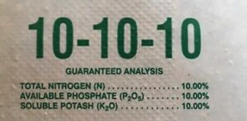 Fertilizer 10-10-10 4 Pound