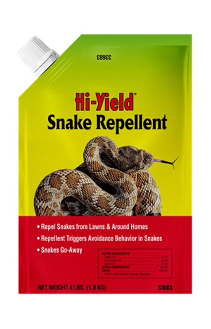 Snake Repellent by Hi-Yield 4 Pound