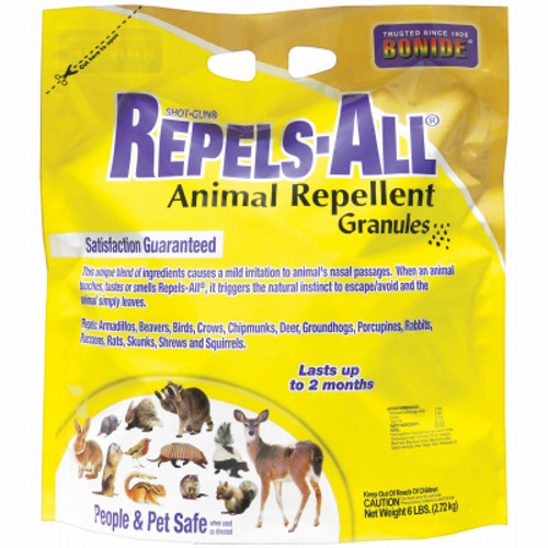 Animal Repellent Granules by  Repels-All  6 Pound