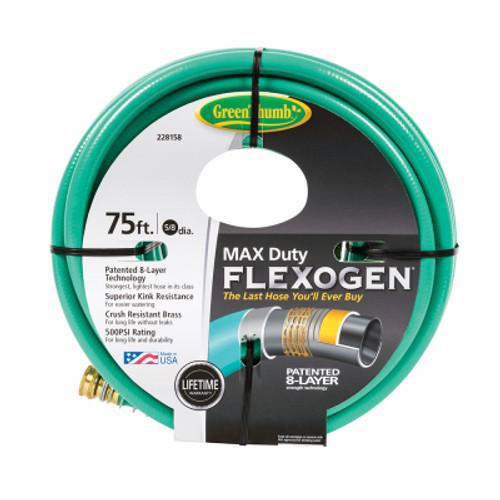 Hose - 5/8 x 75-Green Thumb  Flexogen
