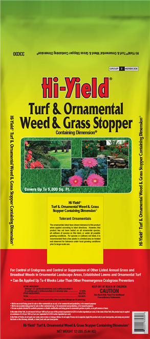 Turf & Ornamental Weed Stopper -  12 Pound