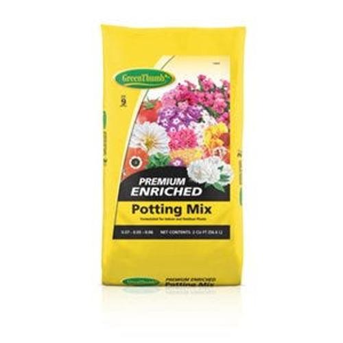 Potting Mix Green Thumb   2 CuFt