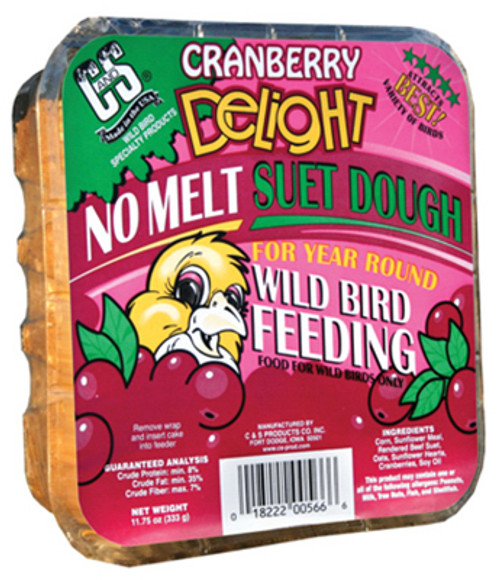 Suet Cake Cranberry 11.75 Ounce