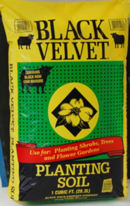 PLANTING SOIL BLACK VELVET  1 CU FT