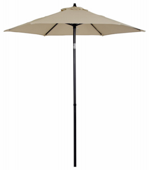 UMBRELLA MARKET TAUPE 9 FT