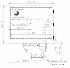 Sharp LQ035Q3DG01C LCD Buy at LCDQuote.com USA Seller.  Free Shipping