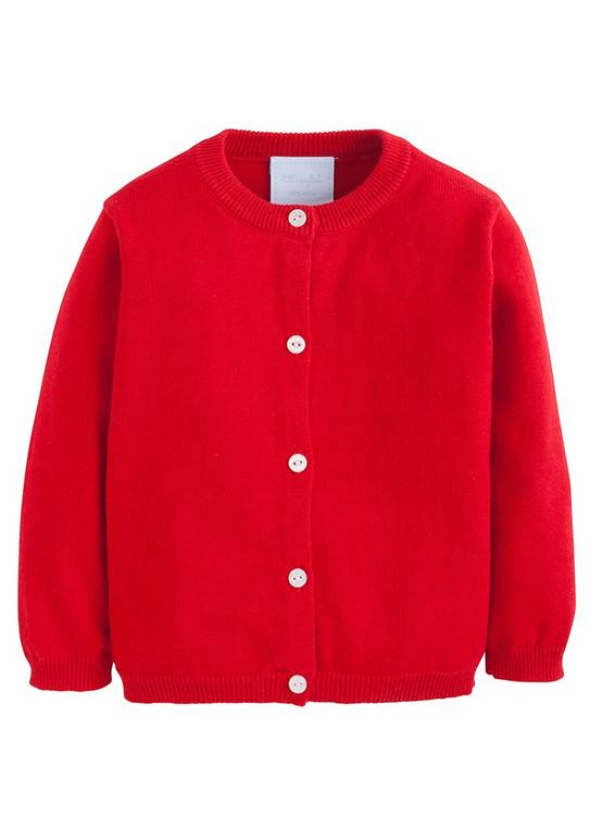 Red Essential Cardigan