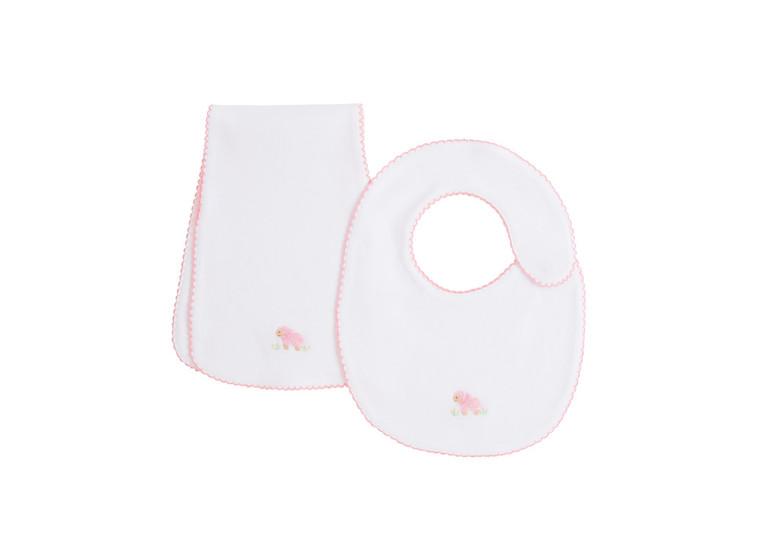 Pinpoint Pink Sheep Bib Set