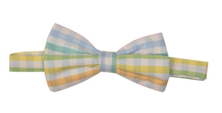Preston Plaid Bow Tie