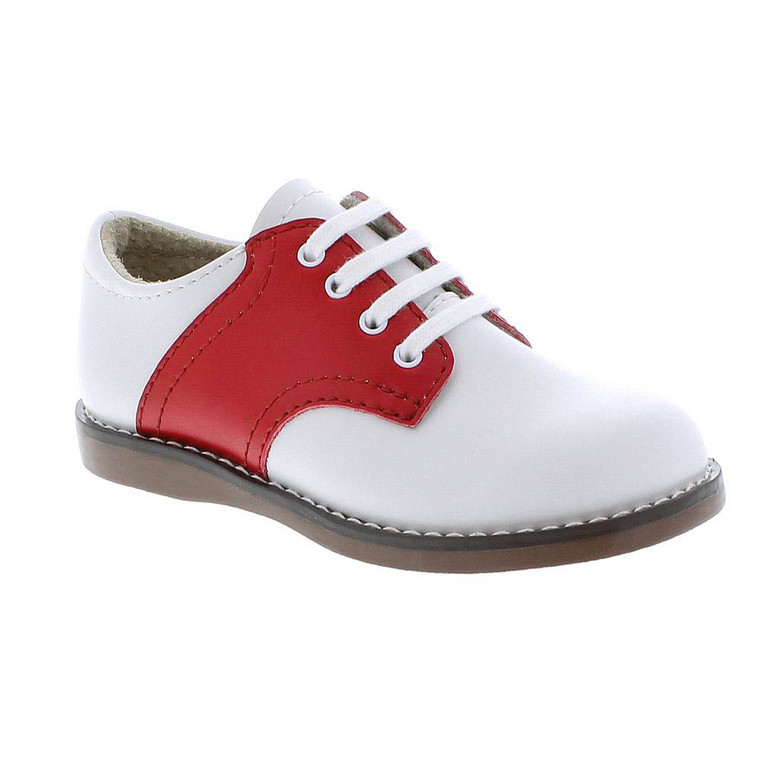Footmates Cheer White/Apple
